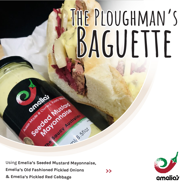 The Ploughman's Baguette
